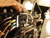 Projekt ROS3D. Testy oświetleniowe kamer Phantom Flex4K w studio filmowym w Warszawie. (fot. Isyrius)