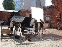 Projekt ROS3D. Plan zdj�ciowy filmu �Czu�o�� (fot. Instytut Nauki i Techniki Stipendium)