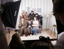 Plan zdj�ciowy filmu �No Panic, with a Hint of Histeria�. Filmowanie testowe w ramach Projektu ROS3D. (fot. FINN)