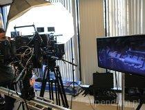 ROS3D. Plan zdjęciowy filmu promocyjno-reklamowego systemu CinemaVision. (fot. Piotr Wojtaszek)