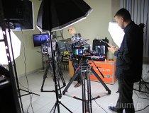 ROS3D. Plan zdjęciowy filmu promocyjnego (fot. Piotr Wojtaszek)