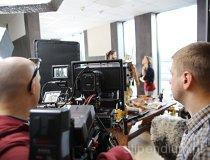 Plan zdjęciowy w siedzibie firmy FINN - Lidera Projektu (fot. Ada Guzowska)