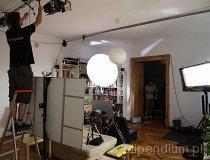 Łódź. Plan zdjęciowy w ramach Projektu ROS3D (fot. Mario Suze)