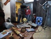 """Plan zdjęciowy """"W szkole gladiatorów"""" (fot. Ada Guzowska)"""