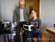 Plan filmowy w hali Opus Film (fot. Piotr Wojtaszek)