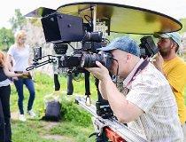 Plan filmowy na Jurze Polskiej (fot. Instytut Nauki i Techniki Stipendium)