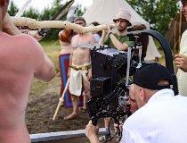 Plan filmowy w Buczku (fot. Instytut Nauki i Techniki Stipendium)