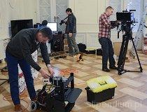 Plan filmowy w Koszęcinie (fot. Instytut Nauki i Techniki Stipendium)