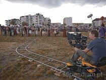 Plan filmowy podczas XVII Europejskiego Święta Bursztynu w Wieluniu (fot. Instytut Nauki i Techniki Stipendium)