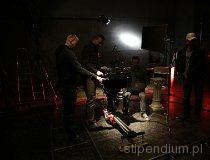 ROS3D. Plan zdjęciowy w Teatrze Szwalnia w Łodzi (fot. Piotr Wojtaszek)
